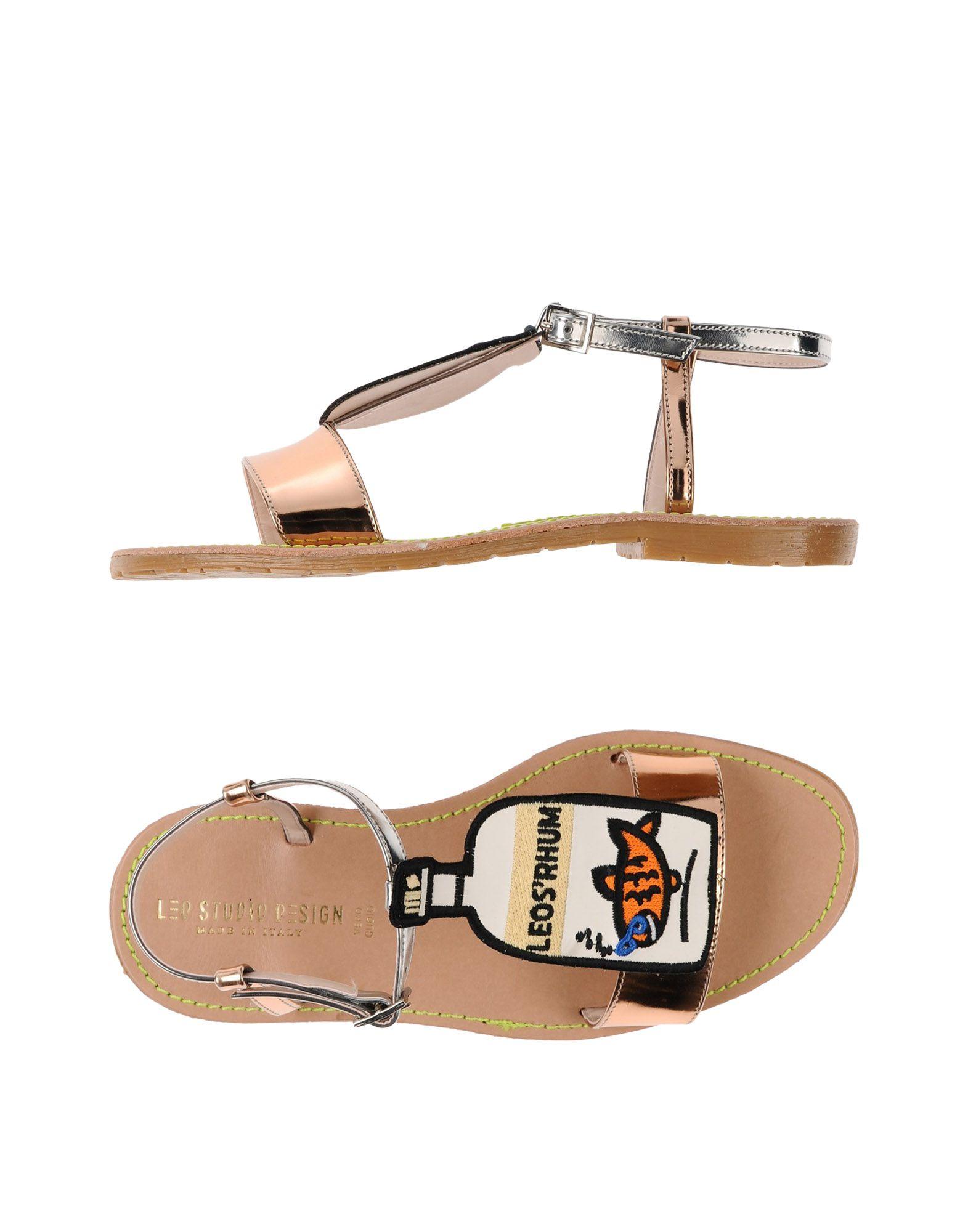 Leo Studio Design Sandalen Damen  11506562PW Gute Qualität beliebte Schuhe