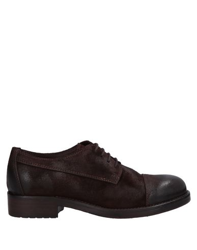 HUNDRED 100 Laced Shoes in Dark Brown