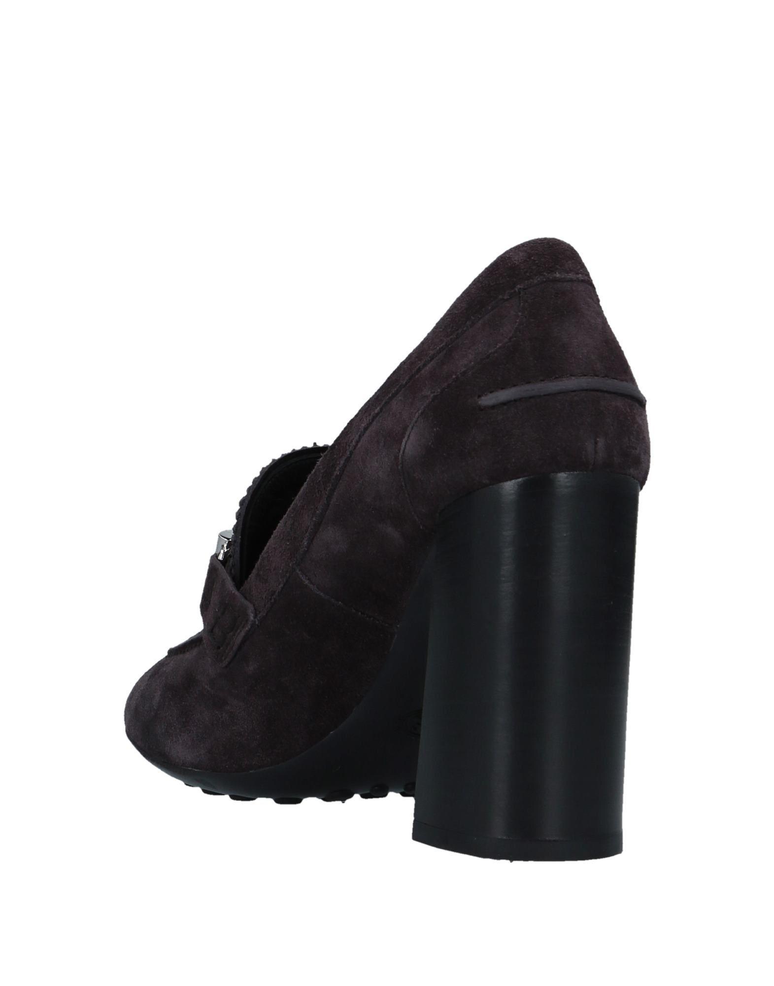 Rabatt Schuhe Tod's Mokassins Damen  11507297AA