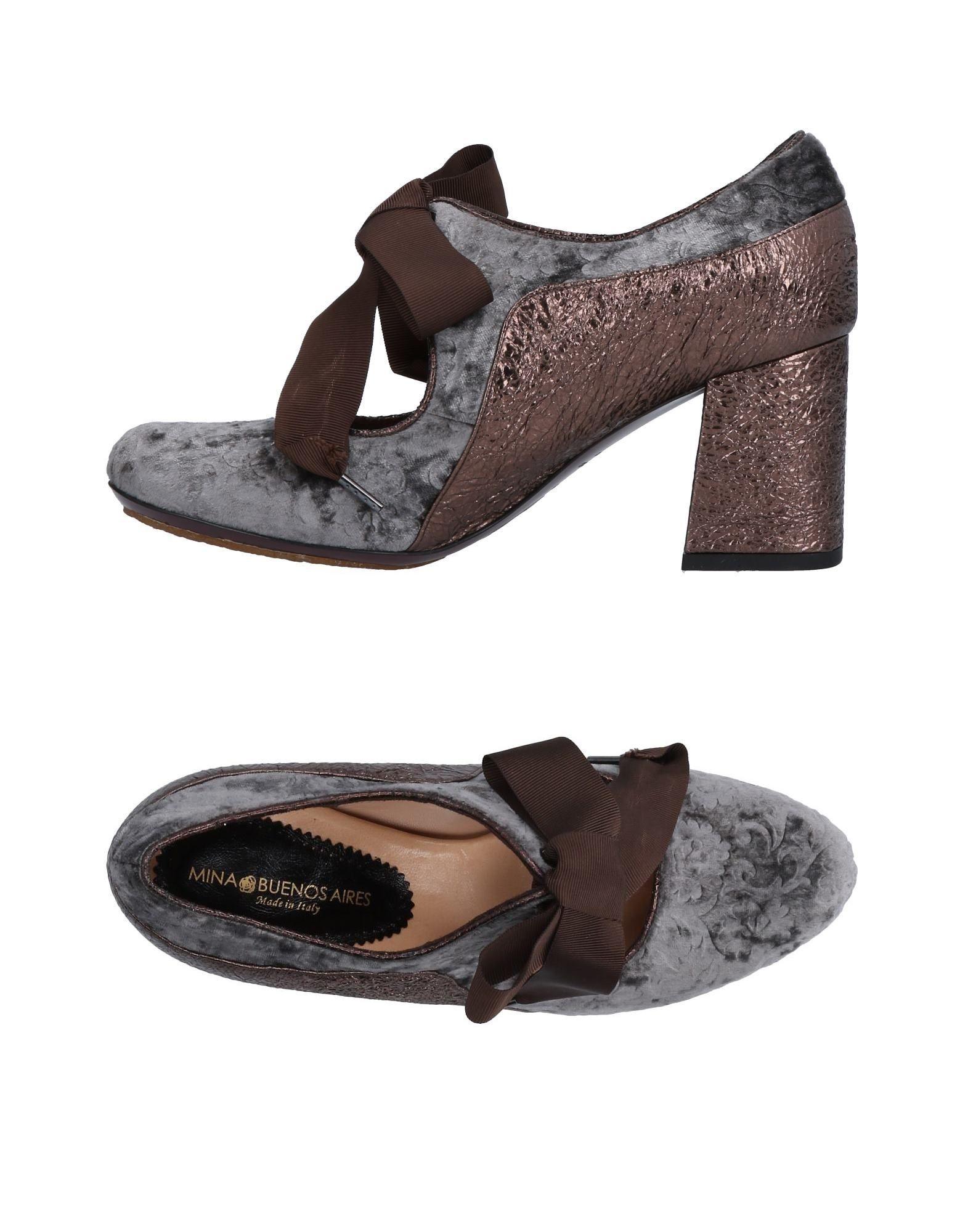 Gran descuento Zapato De Salón Mina Buos Aires Mujer - Plomo Salones Mina Buos Aires  Plomo - fd3b45