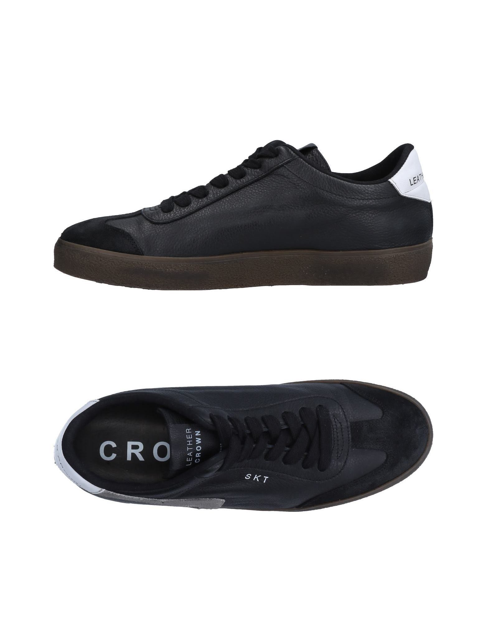 Leather Crown Sneakers Herren  11507500EF