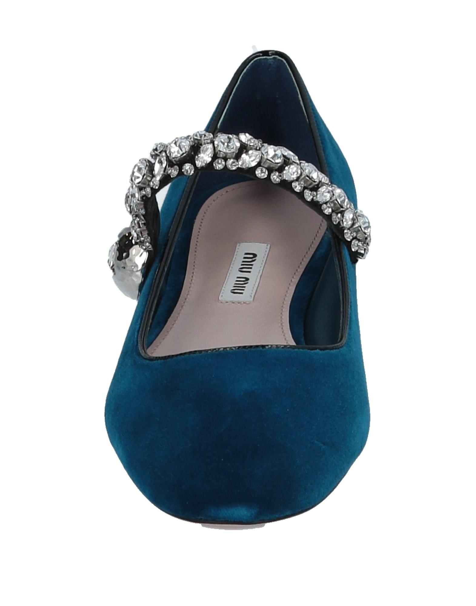 Miu Miu Ballet Flats Flats Flats - Women Miu Miu Ballet Flats online on  United Kingdom - 11507809MQ f65c71
