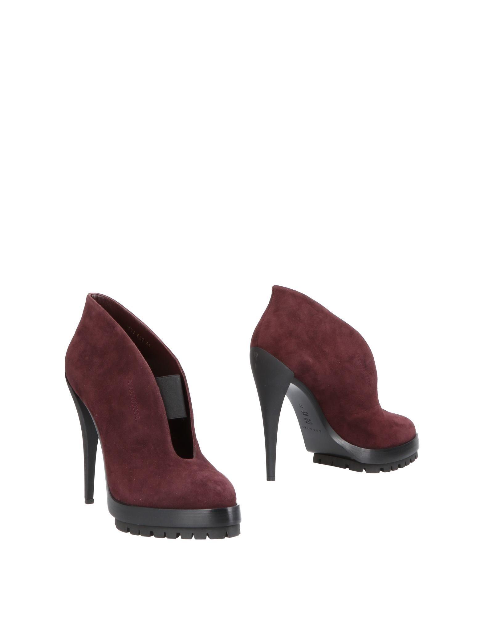 Bottine Casadei Femme - Bottines Casadei Aubergine Dernières chaussures discount pour hommes et femmes