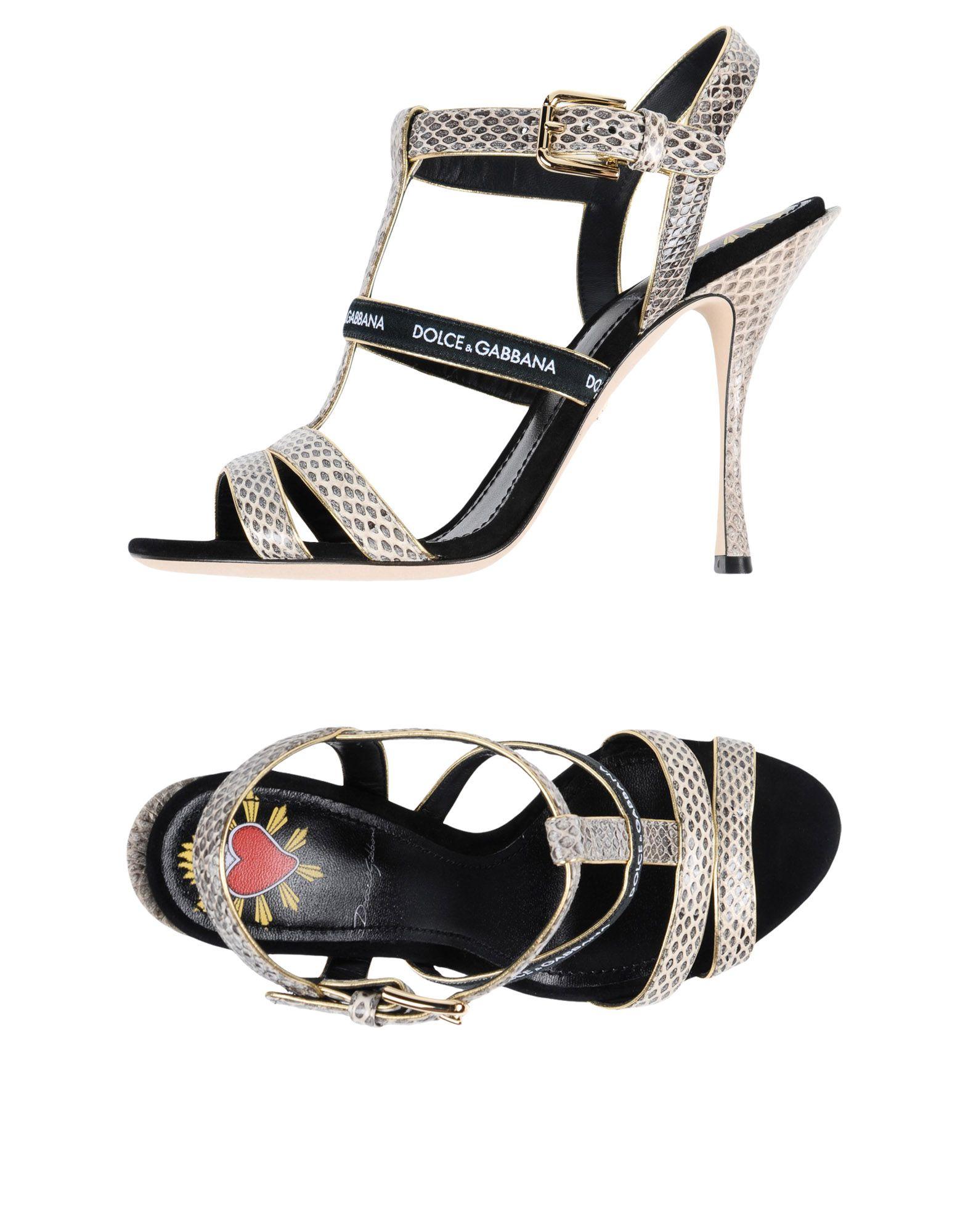 Dolce & Gabbana Sandalen Damen  11508039BJGünstige gut aussehende Schuhe