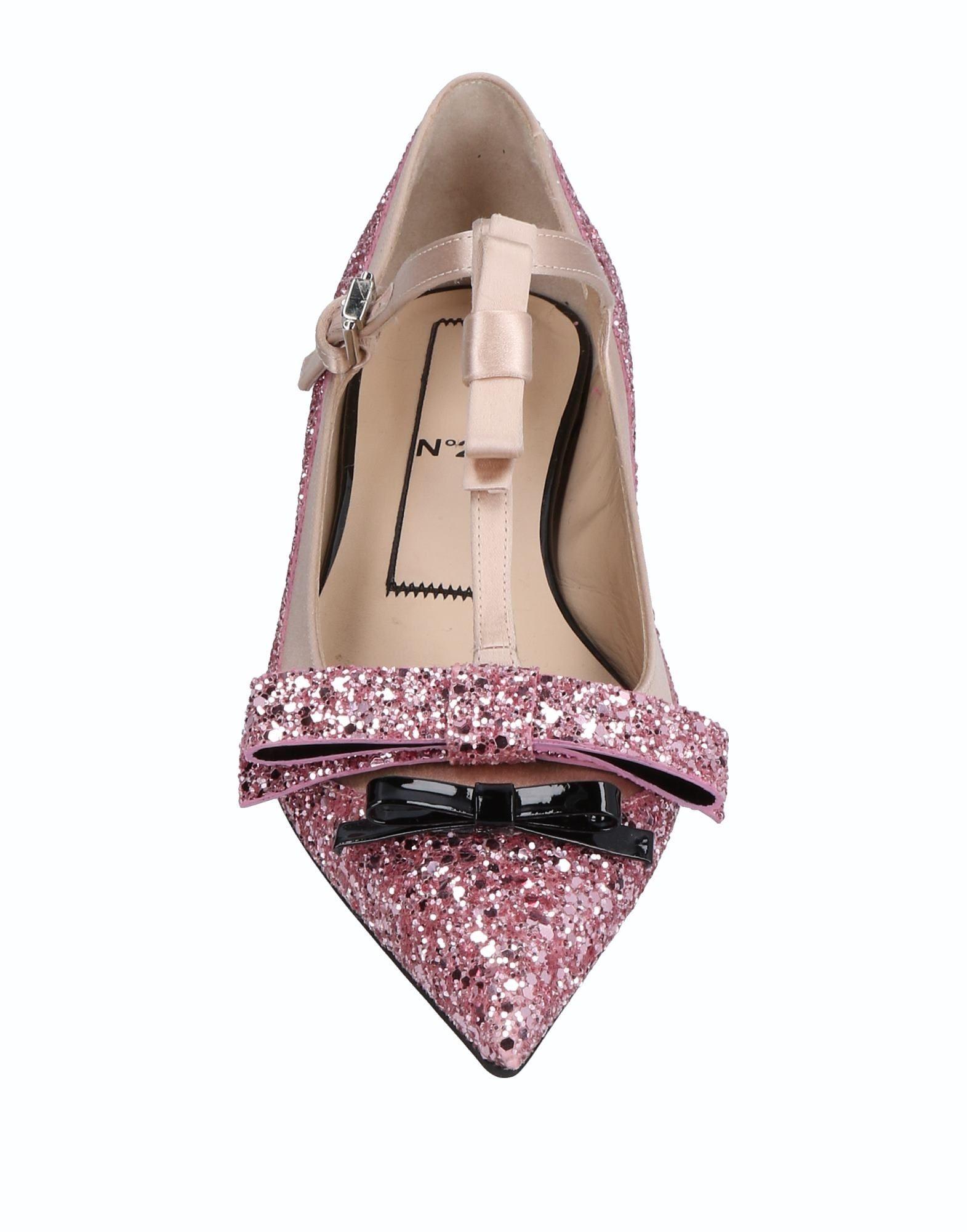 Rabatt Schuhe N° 21 Ballerinas Damen  11508110SJ
