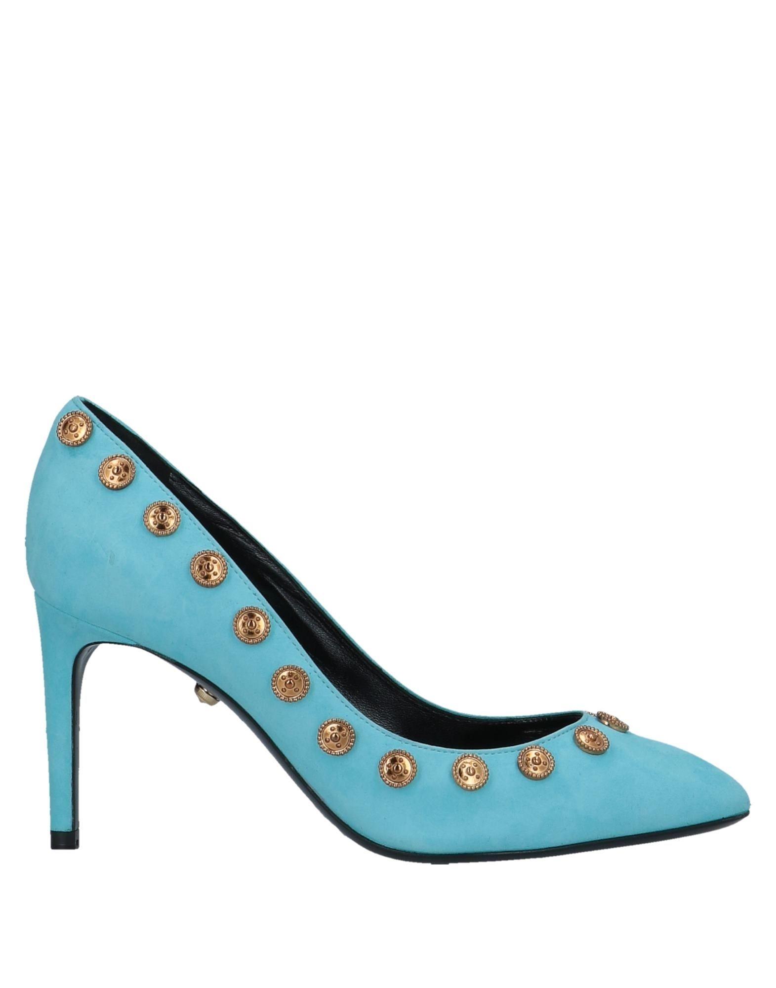 Zapatos casuales salvajes Zapato De Salón Fausto Puglisi Mujer - Azul Salones Fausto Puglisi  Azul - celeste f210d5