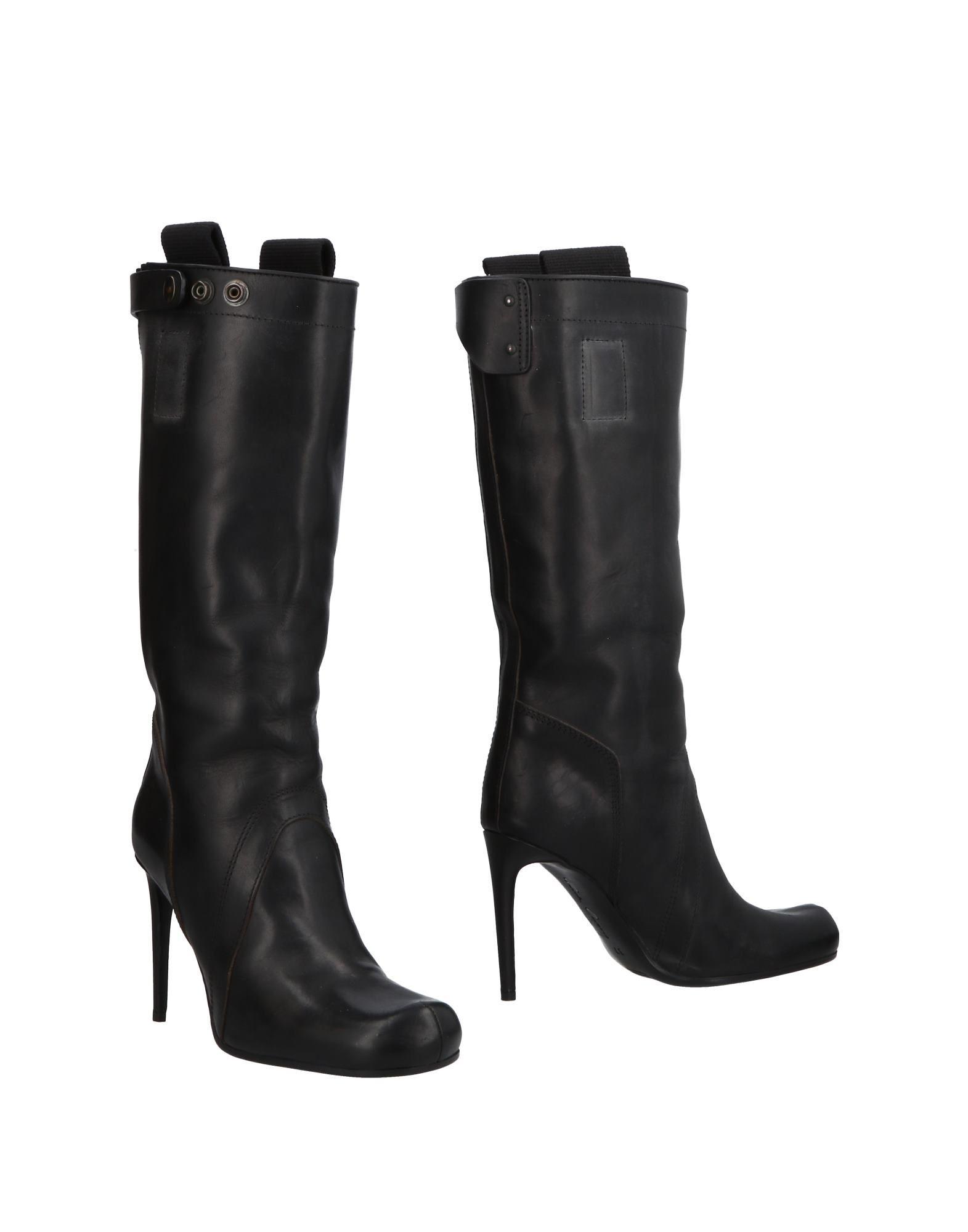 Rick Owens Stiefel Damen aussehende  11508259VXGünstige gut aussehende Damen Schuhe c4d2d7