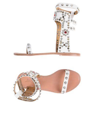 IOANNIS Sandals in White