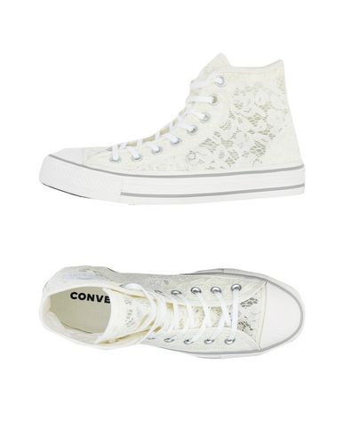 Converse All Star Chuck Taylor All Star Hi Flower Lace - Sneakers ... 3800d29ebb