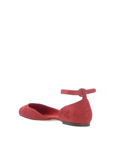 Dolce amp; Gabbana Ballerine Donna Scarpe Rosso