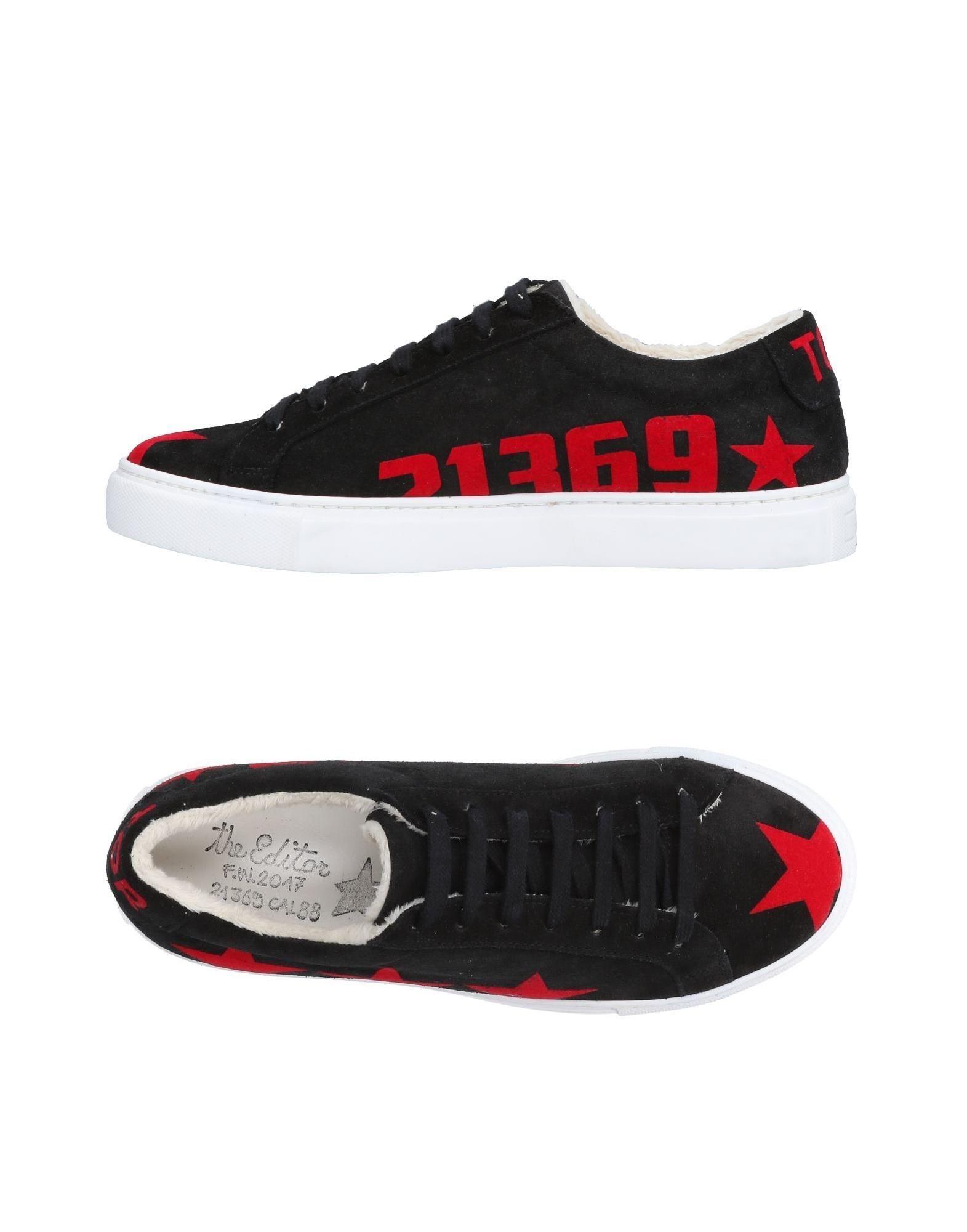 Rabatt echte Schuhe The Editor Sneakers Herren  11509864DO