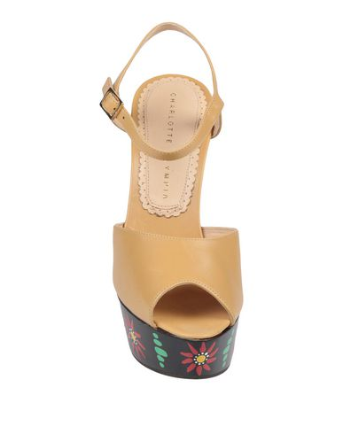 Olympia Charlotte Olympia Beige Sandales Charlotte Sandales Beige Beige Sandales Charlotte Olympia OrqEr
