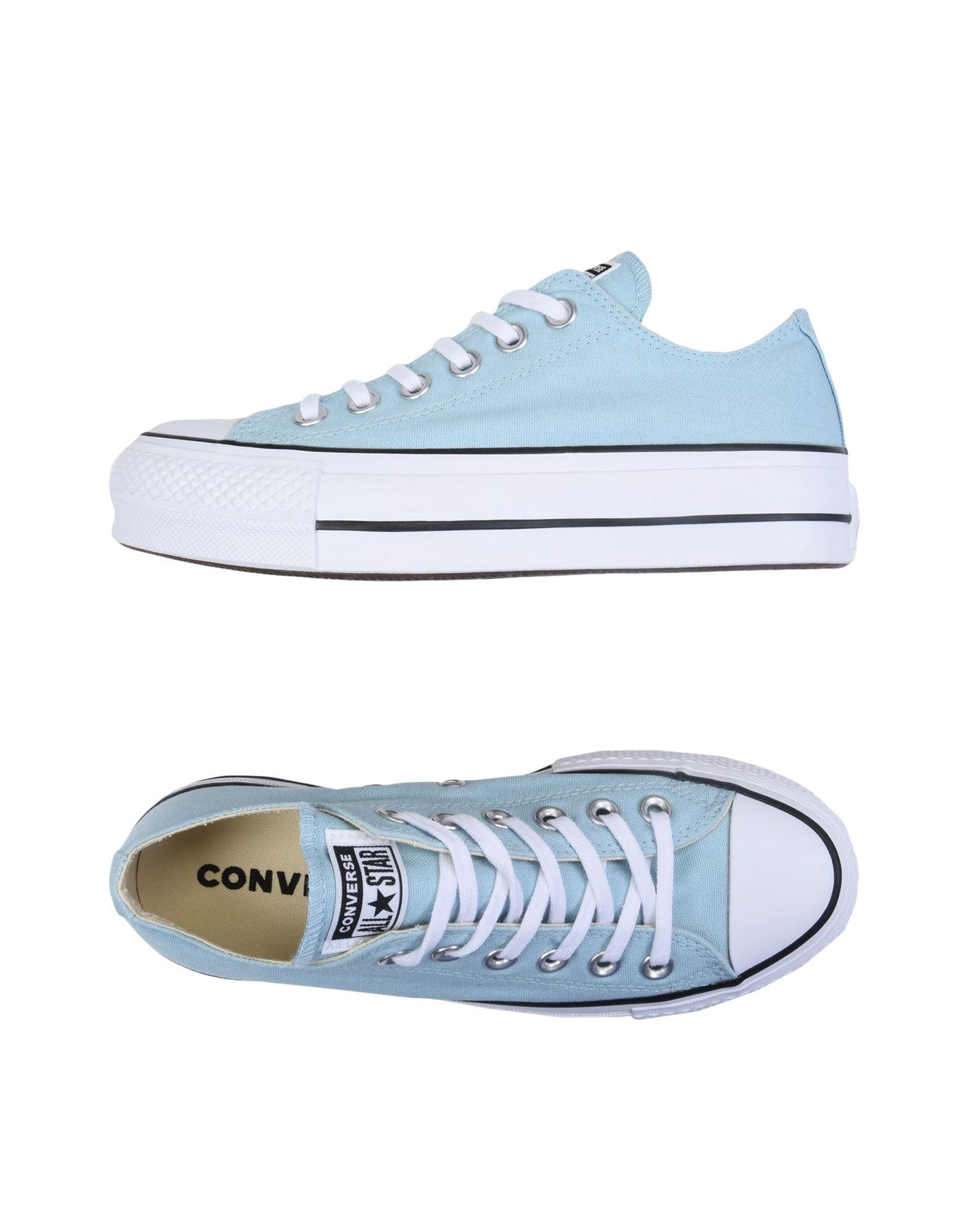 Sneakers Converse All Star Chuck Taylor All Star Lift Ox - Canvas Color - Donna - Ox 11510635ES d0ea21