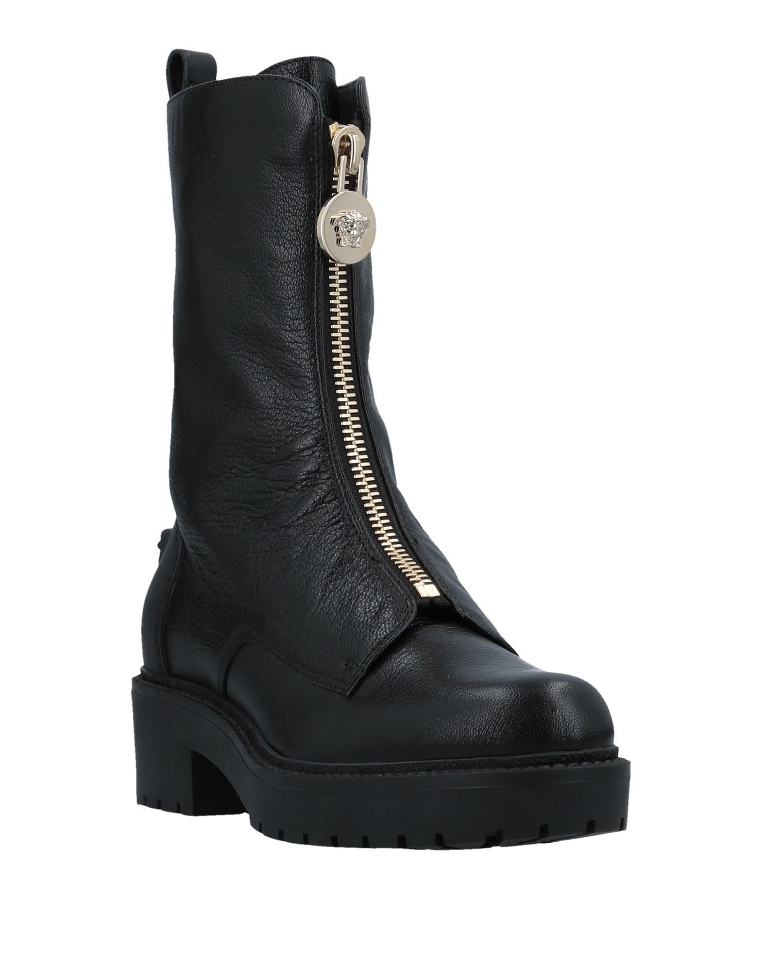 Versace Stiefelette aussehende Damen  11511030PUGünstige gut aussehende Stiefelette Schuhe 667606