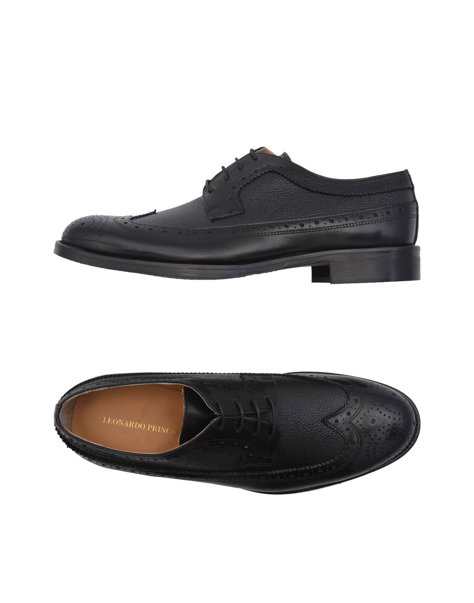 Rabatt echte Schuhe Leonardo Principi Schnürschuhe Herren  11511142QA