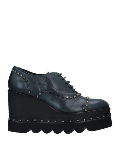 Zapato De Cordones Ras Mujer - Zapatos 11511583MG De Cordones Ras - 11511583MG Zapatos Verde petróleo 65d476