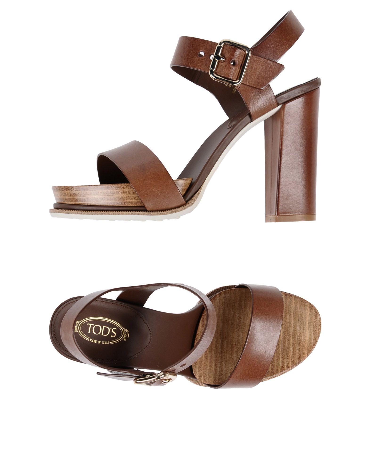 Tod's Sandals - Women Tod's Sandals - online on  Canada - Sandals 11511620VA 51011c