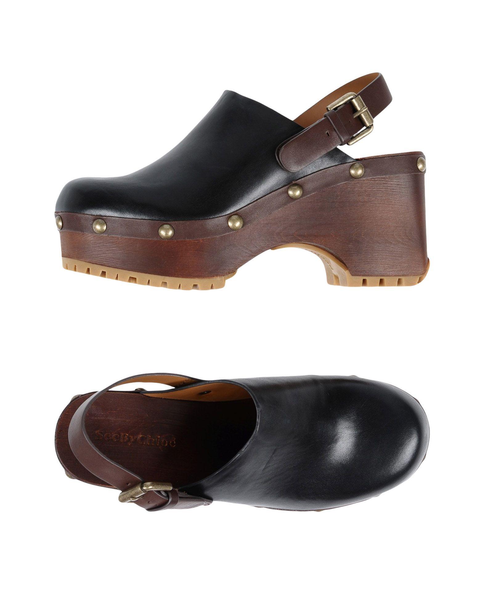 Rabatt Schuhe Pantoletten See By Chloé Pantoletten Schuhe Damen  11511862GJ ebefe4