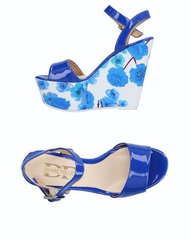 Los últimos zapatos de mujeres descuento para hombres y mujeres de Sandalia Divine Follie Mujer - Sandalias Divine Follie - 11512000VG Azul marino d69a6c