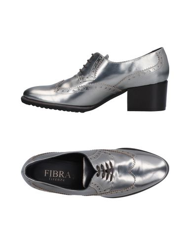 Zapato De Cordones Fibra De Firze Mujer - Zapatos De Fibra Cordones Fibra Firze - 11512187OP Plata 0ced94