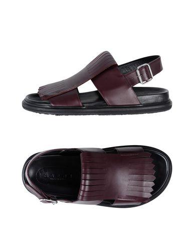 Zapatos Hombre con descuento Sandalia Marni Hombre Zapatos - Sandalias Marni - 11513082UC Berenjena 46e78f