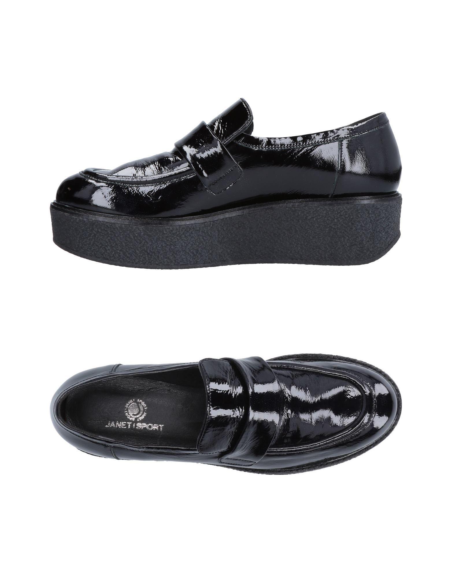 Los últimos zapatos de descuento para hombres y mujeres Mocasín - Janet Sport Mujer - Mocasín Mocasines Janet Sport  Negro f6a57a