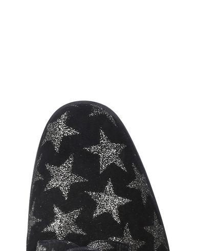 Chaussures Lacets Ballerinas À Pretty Noir FgTSq
