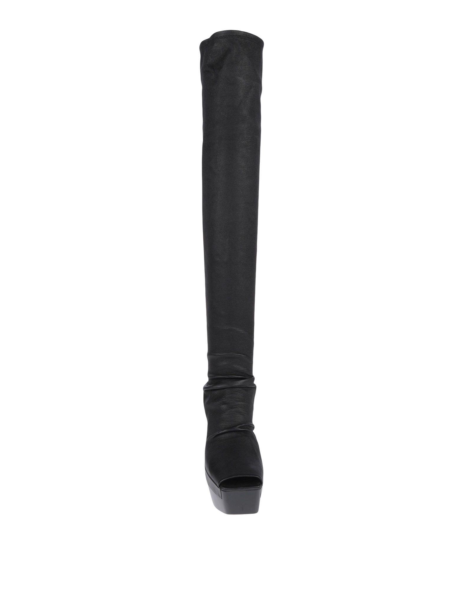 Rick Owens Stiefel aussehende Damen  11513859AFGünstige gut aussehende Stiefel Schuhe 45911e