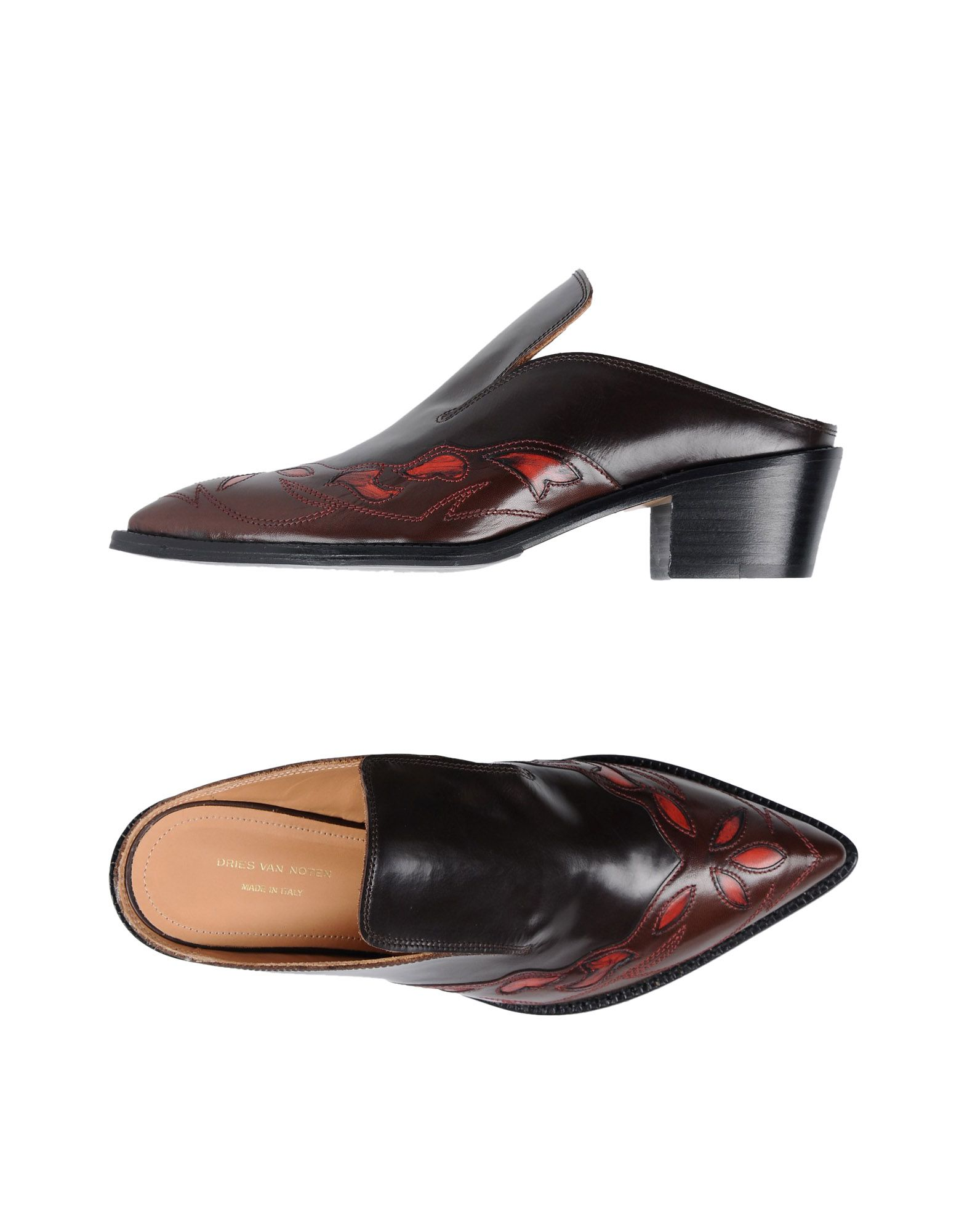 Dries  Van Noten Pantoletten Damen  Dries 11513947WOGünstige gut aussehende Schuhe 32a4c5