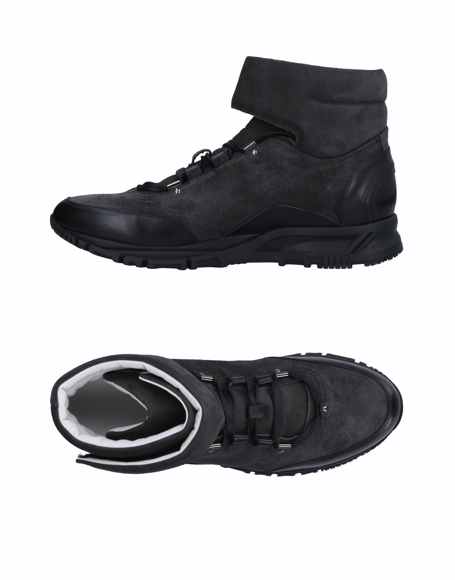 Sneakers Lanvin Homme - Sneakers Lanvin  Anthracite Spécial temps limité