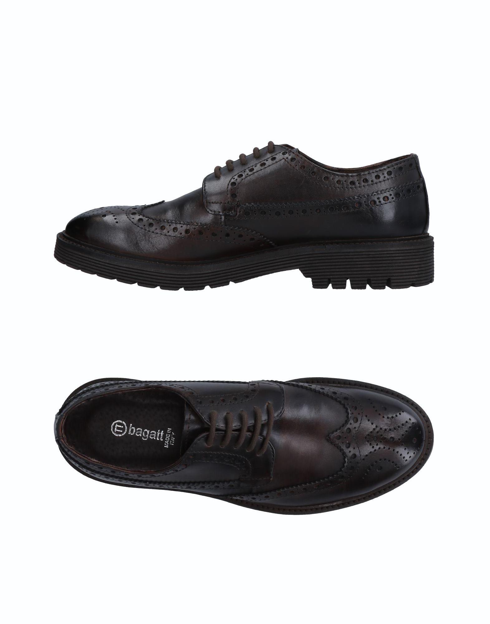 Rabatt echte Schuhe Bagatt Schnürschuhe Herren  11514310AR