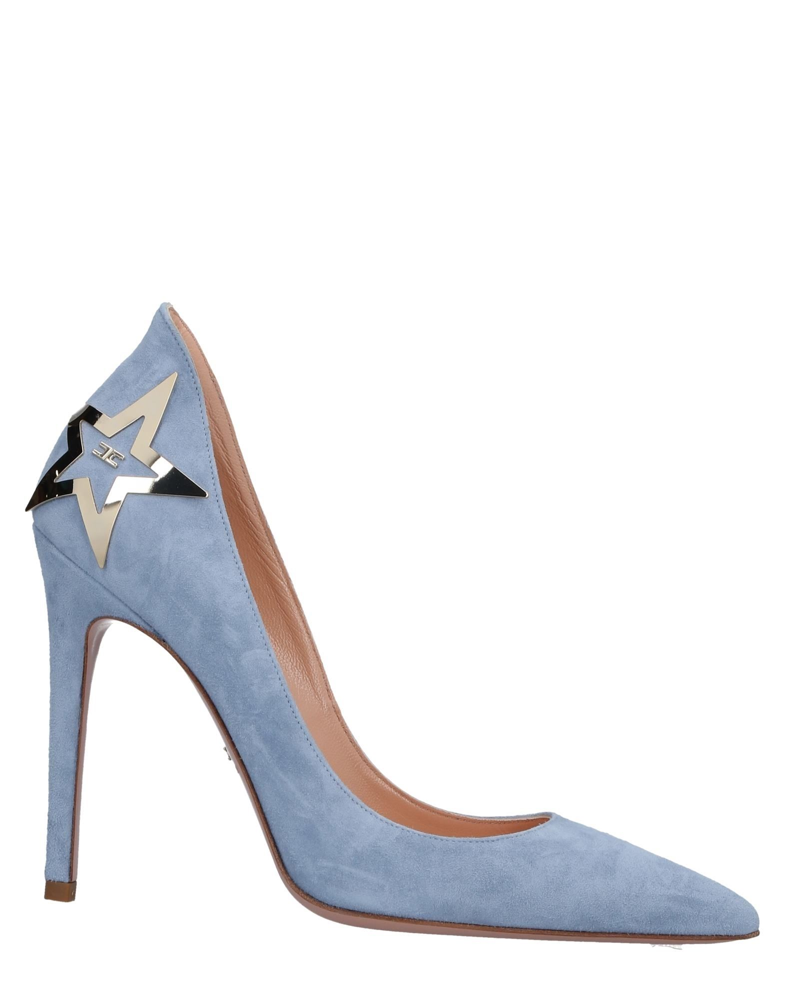 Venta de liquidación de temporada Zapato De Mujer Salón Elisabetta Franchi Mujer De - Salones Elisabetta Franchi  Azul celeste d14b83