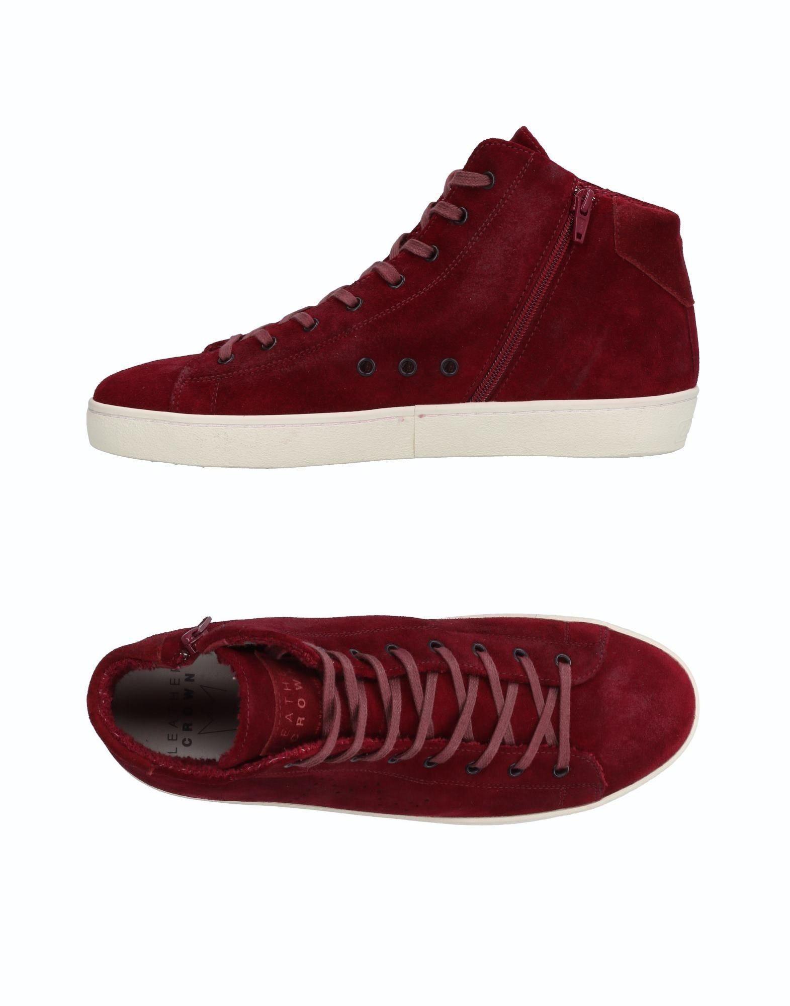 Rabatt echte Schuhe Leather Crown Sneakers Herren  11514343VV