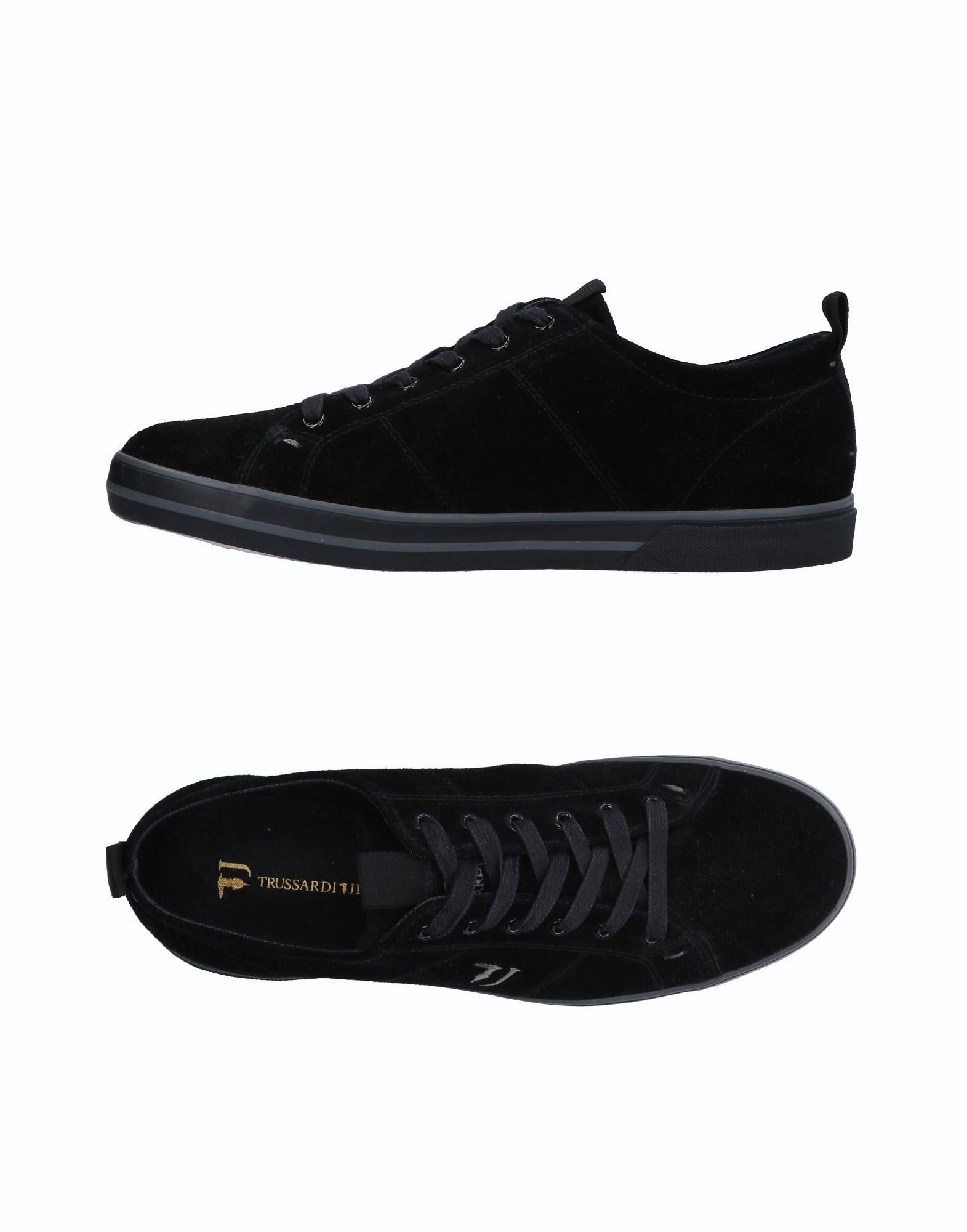 Rabatt echte Schuhe Trussardi Jeans Sneakers Herren  11514372QE