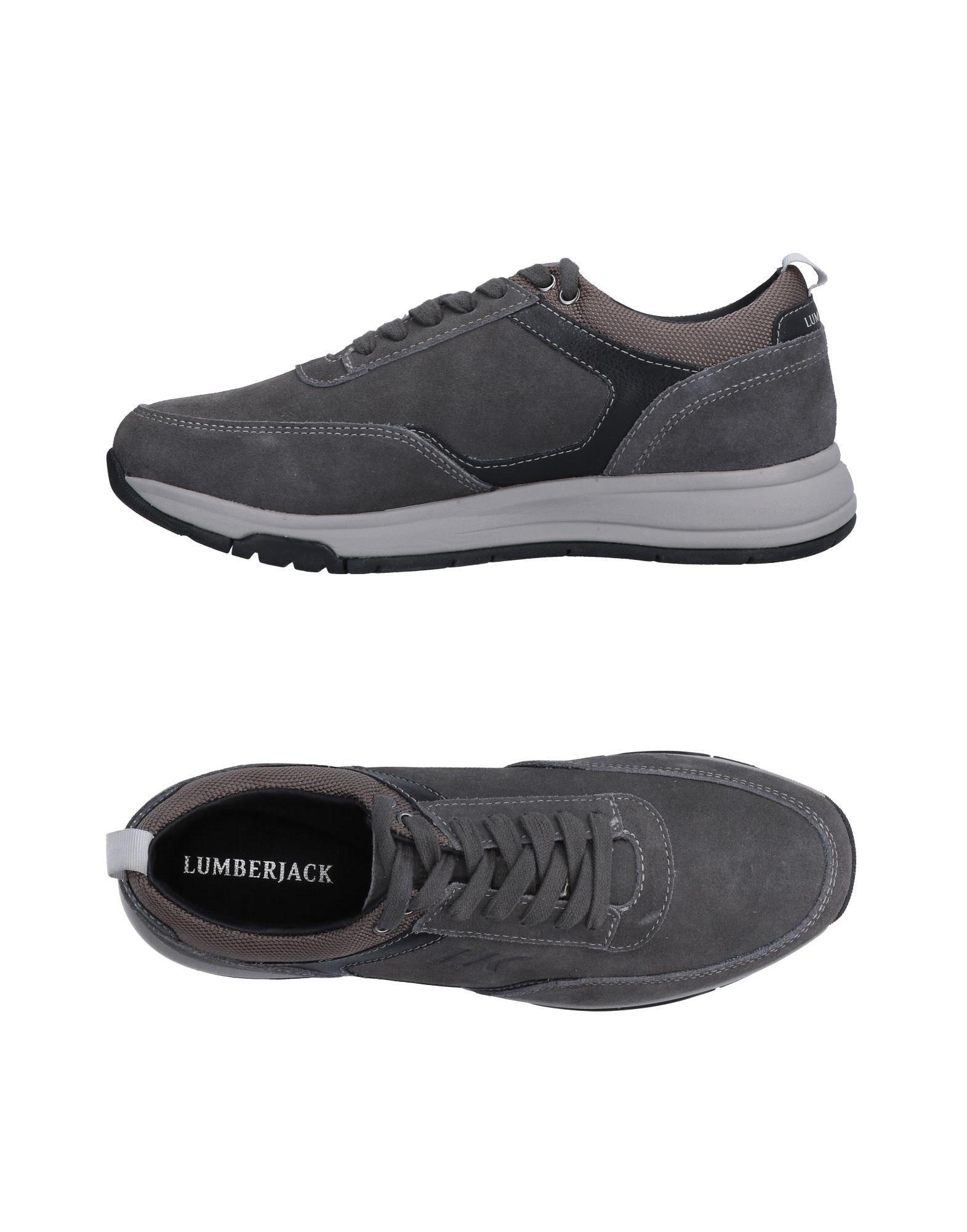 Rabatt echte Schuhe Lumberjack Sneakers Herren  11514637LO
