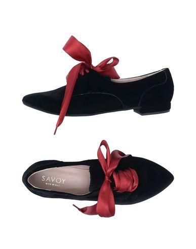 Zapato Cordones De Cordones Savoy Mujer - Zapatos De Cordones Zapato Savoy - 11514819SE Negro c849f8