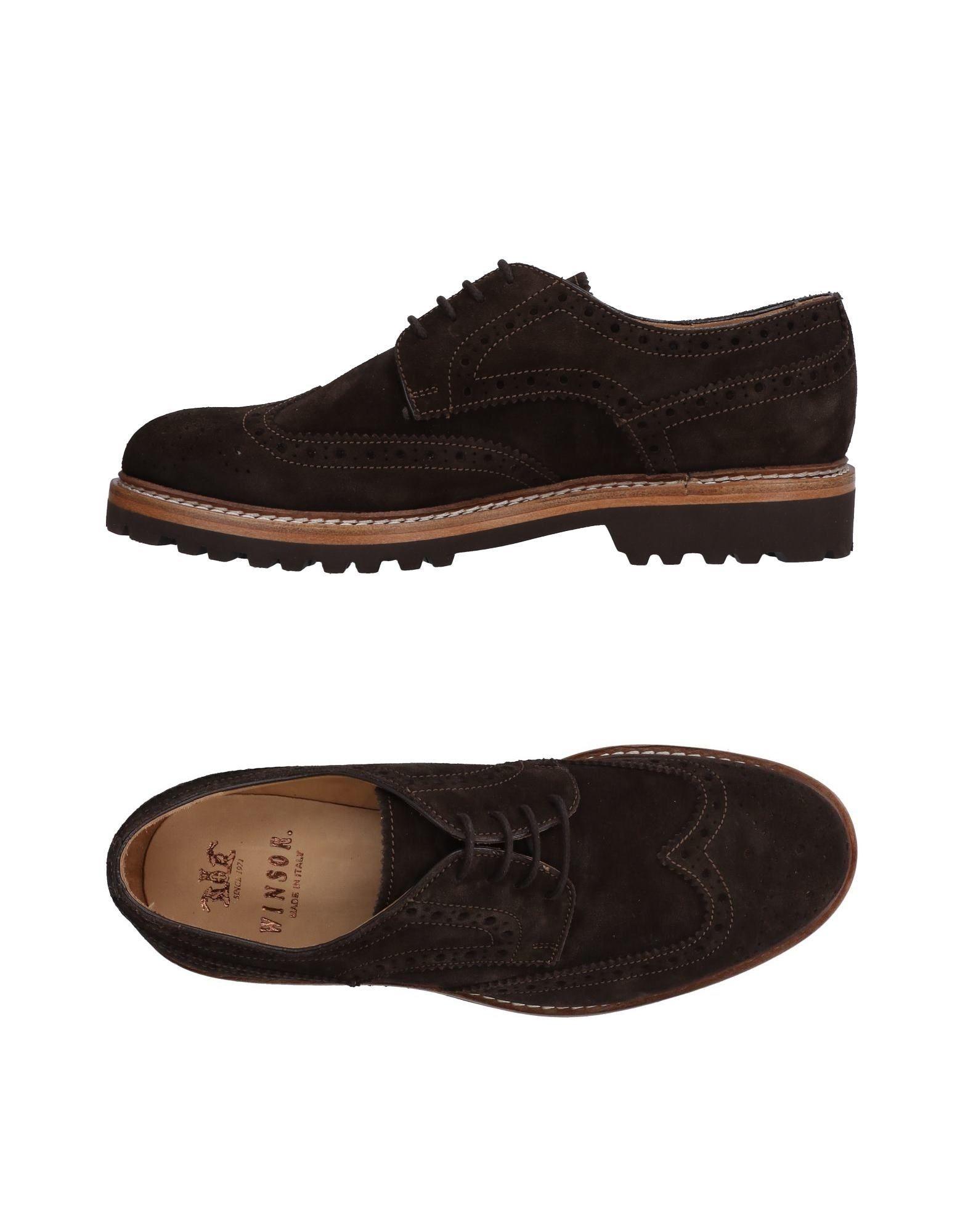 Rabatt echte Schuhe Winsor Schnürschuhe Herren  11514998XG