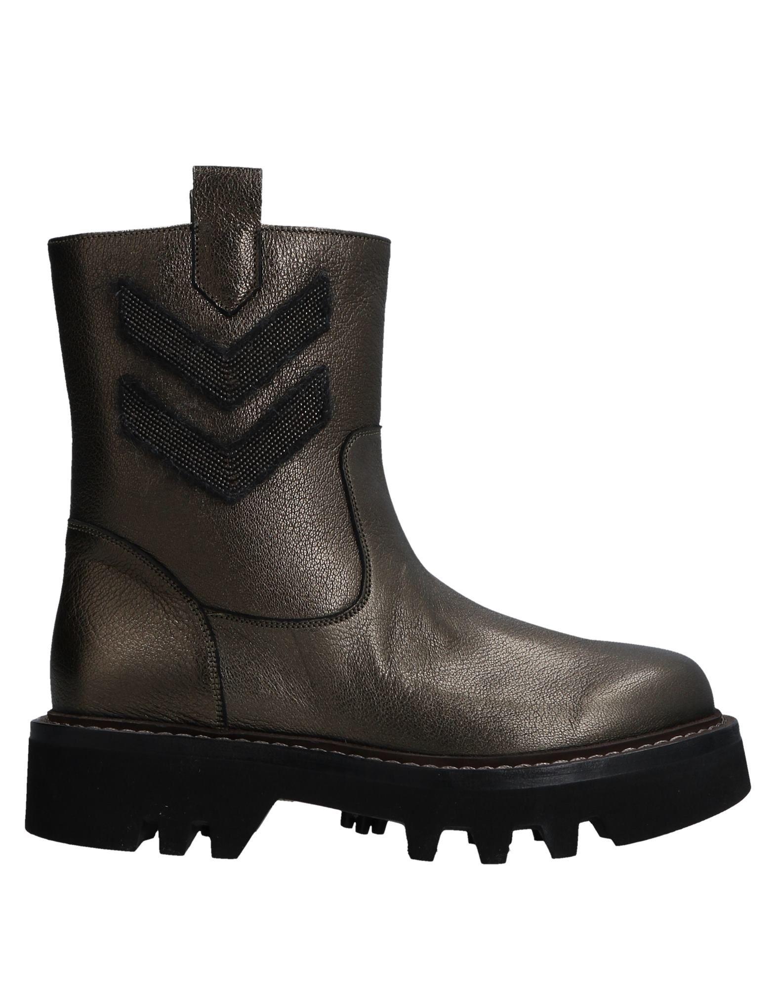 Brunello Cucinelli Stiefelette Damen  11515077EHGünstige gut aussehende Schuhe