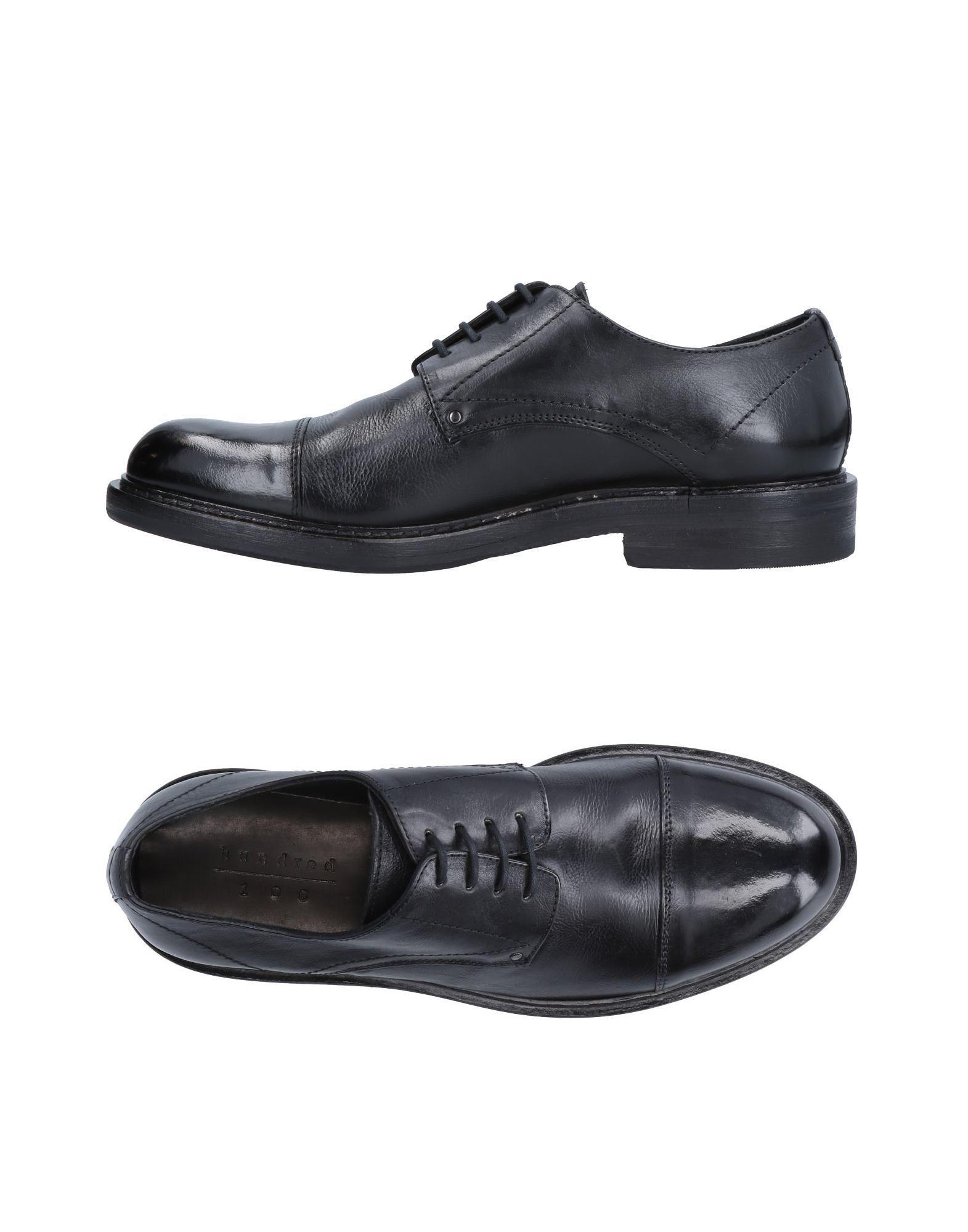 Rabatt echte Schuhe Hundred 100 Schnürschuhe Herren  11515248RX