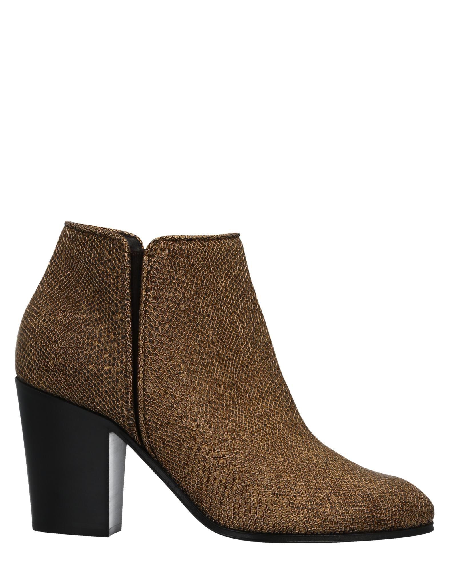 Bottine Giuseppe Zanotti Femme - Bottines Giuseppe Zanotti Or Dernières chaussures discount pour hommes et femmes