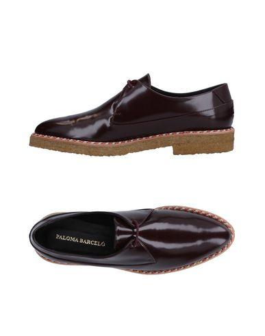 Chaussures À Aubergine Barceló Lacets Paloma x8R5aq