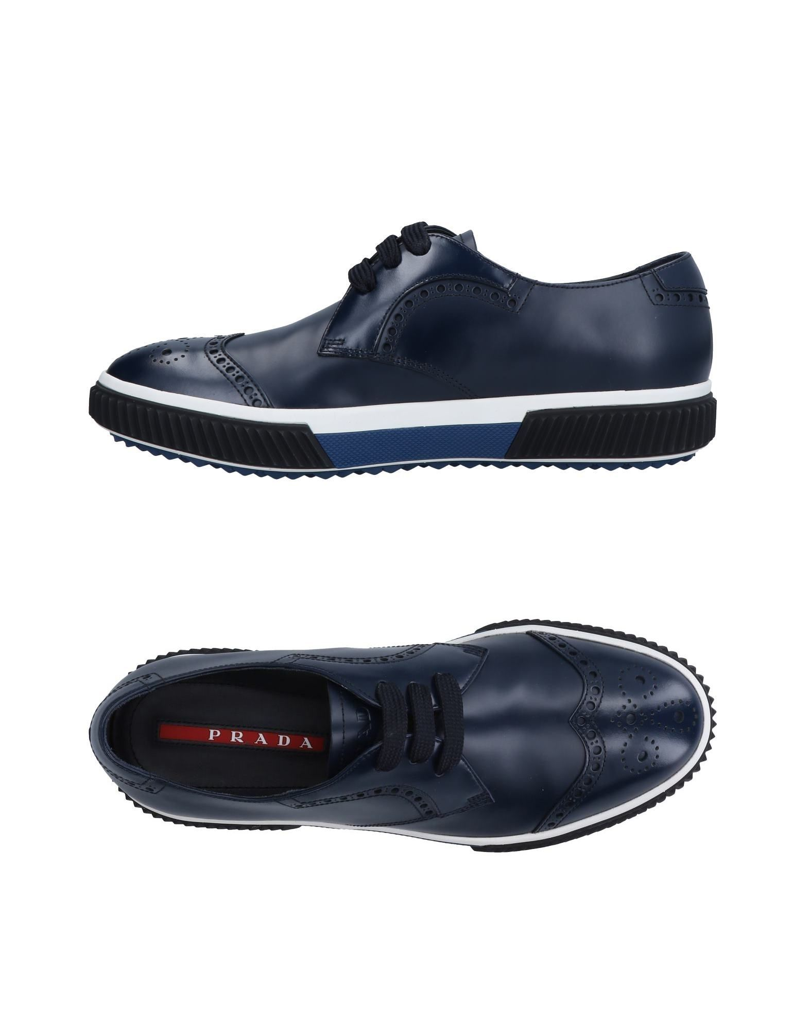 Sneakers Prada Sport Homme - Sneakers Prada Sport  Bleu foncé Chaussures casual sauvages