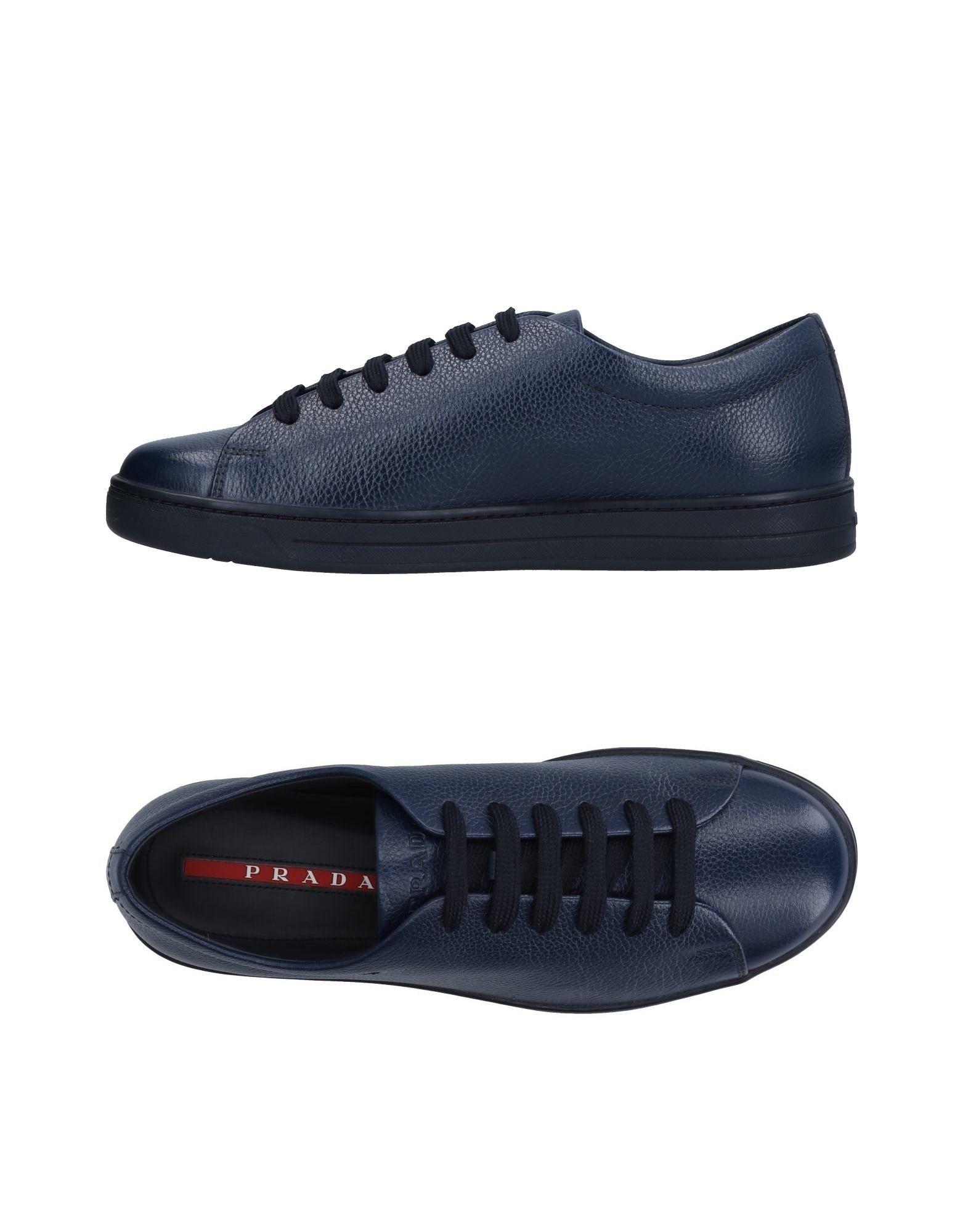Sneakers Prada Sport Homme - Sneakers Prada Sport  Bleu foncé Chaussures femme pas cher homme et femme