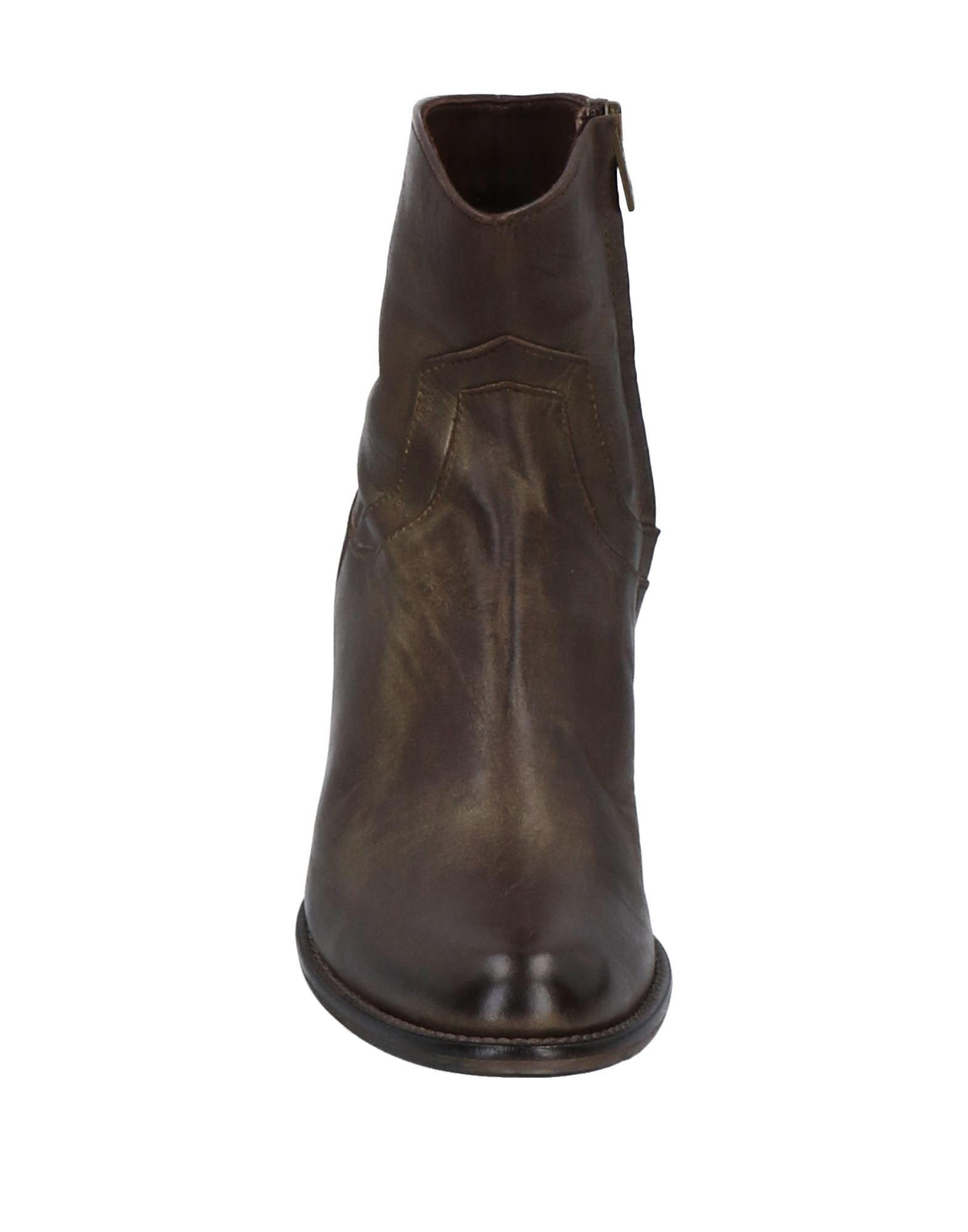Stilvolle billige Schuhe Leonardo Iachini Stiefelette Damen  11515846LL