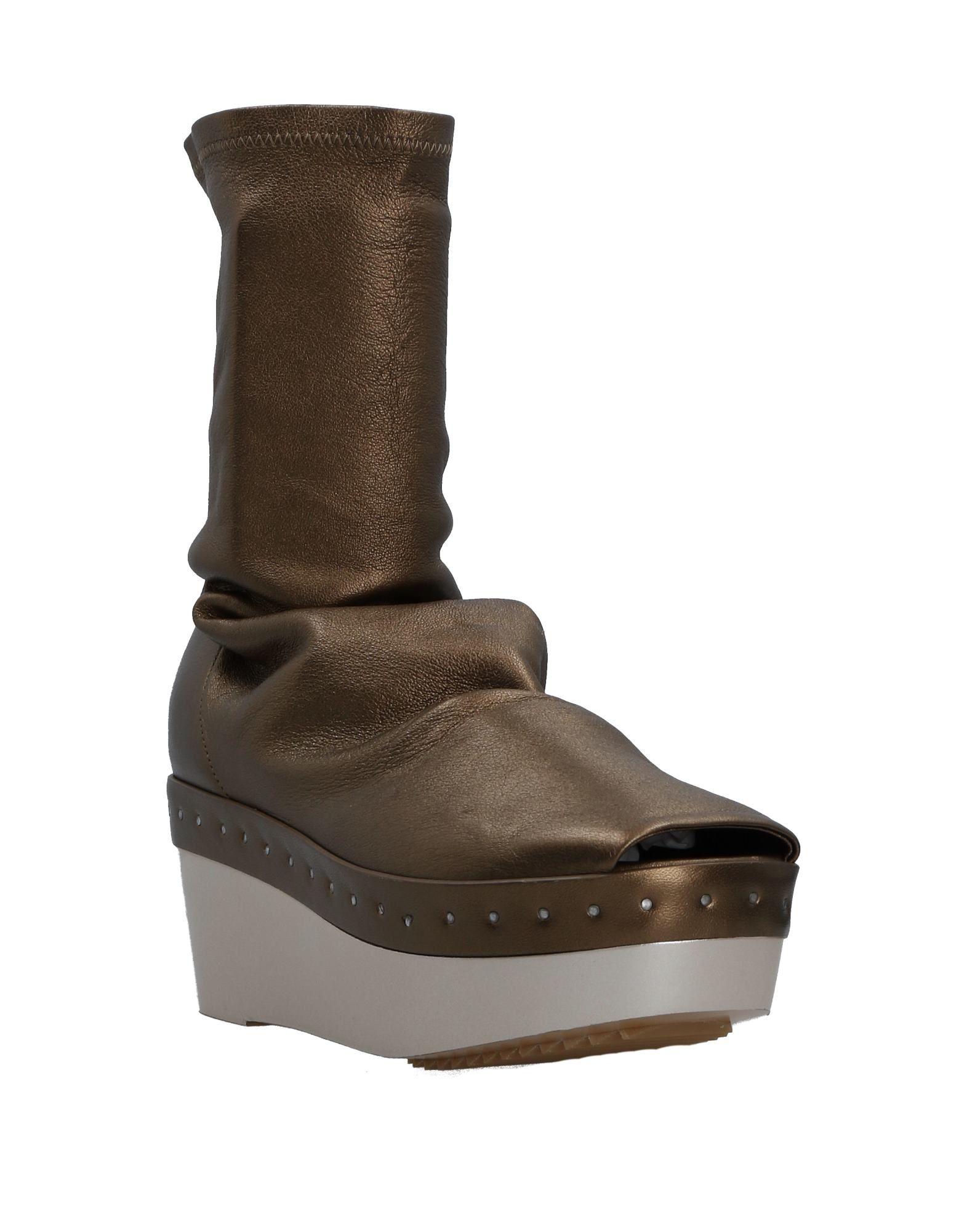 Rick Owens Stiefelette aussehende Damen  11516032DUGünstige gut aussehende Stiefelette Schuhe bc61ee