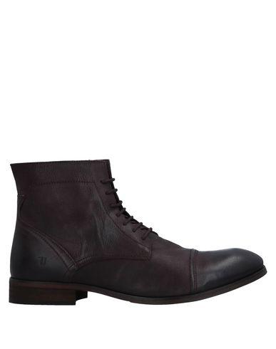 Zapatos de hombre y mujer de promoción por tiempo limitado Botín Trussardi Jeans Hombre - Botines Trussardi Jeans - 11516140SR Cacao