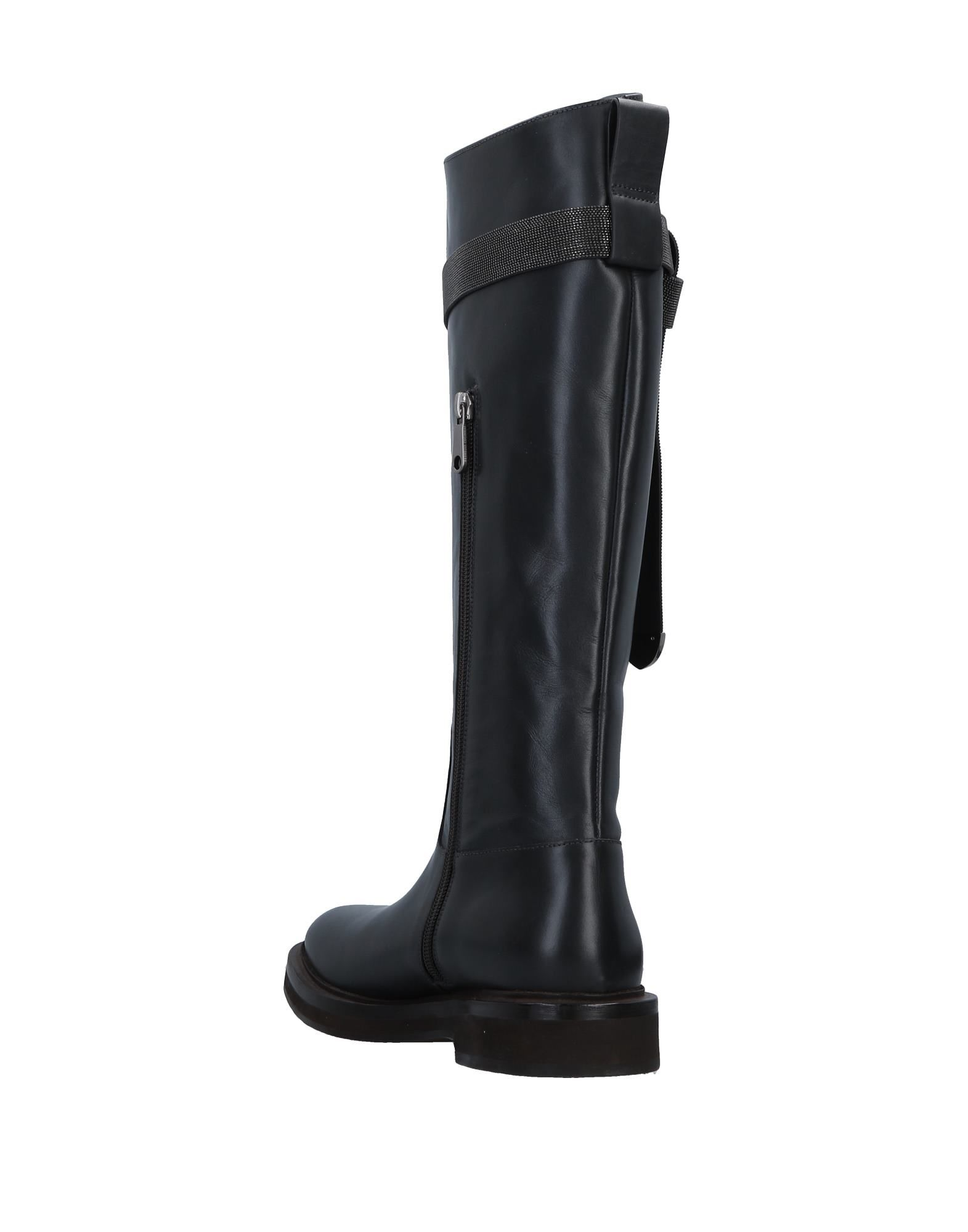 Brunello Cucinelli Schuhe Stiefel Damen  11516283XLGünstige gut aussehende Schuhe Cucinelli a29696