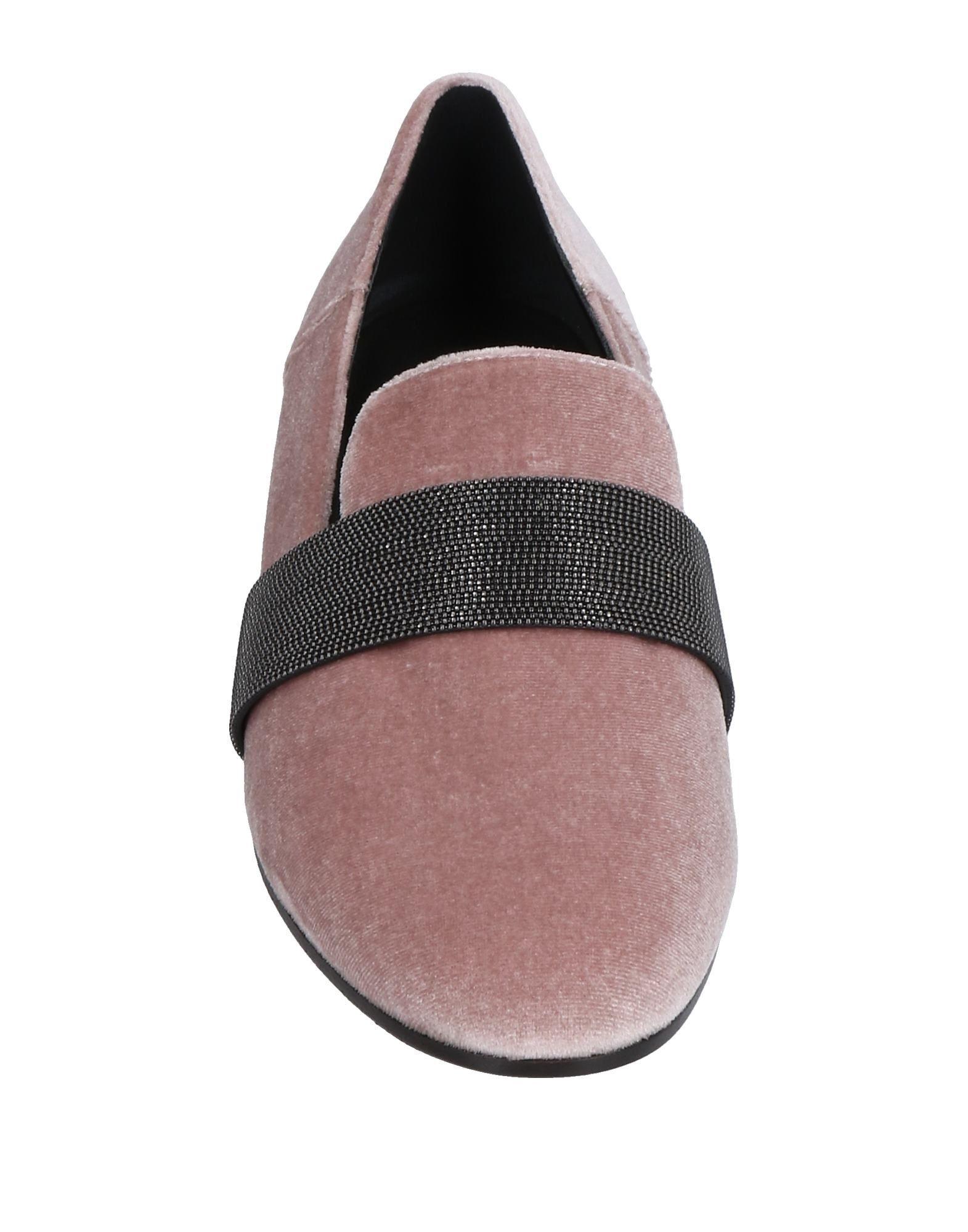 Brunello Cucinelli aussehende Mokassins Damen 11516356PQGünstige gut aussehende Cucinelli Schuhe 59bcb6