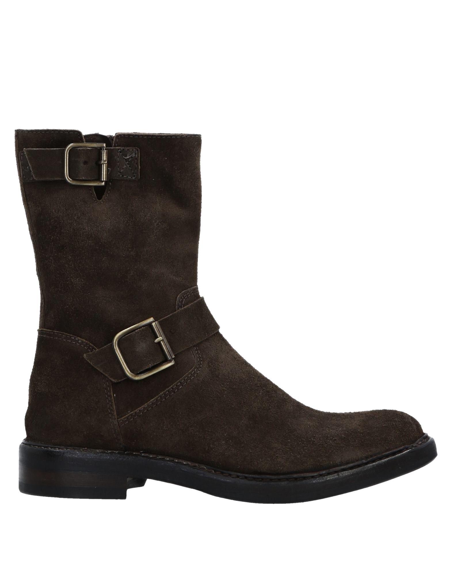 Bottine Hundred 100 Femme - Bottines Hundred 100 Kaki Nouvelles chaussures pour hommes et femmes, remise limitée dans le temps