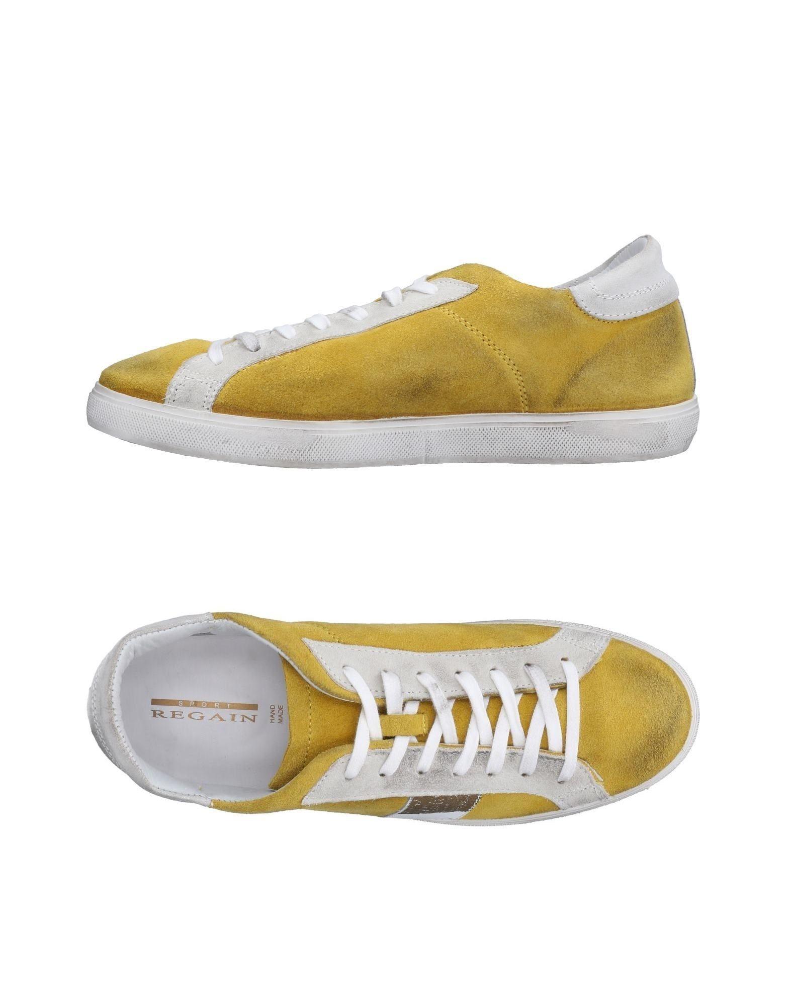 Sneakers Regain Homme - Sneakers Regain  Jaune Mode pas cher et belle